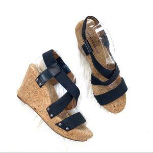 Lucky Brand Marla Cork Wedge Sandals